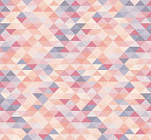 Colorful triangles, abstract seamless background. EPS10 vector illustration, global colors, easy to modify.