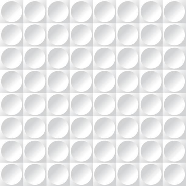 ilustrações, clipart, desenhos animados e ícones de padrão de superfície textura círculo abstrata sem emenda - molduras decorativas