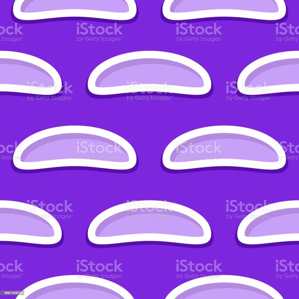 Sömlös abstrakta geometriska 3d mönster. Violett och lila bakgrund - Royaltyfri Abstrakt vektorgrafik