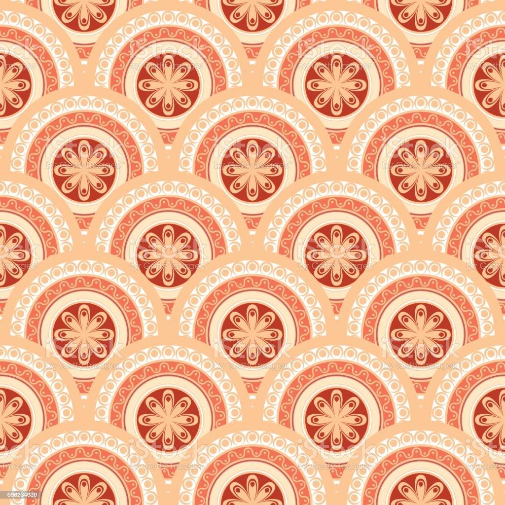 Seamless abstract geometric pattern. Seamless background. Vector Illustration vector art illustration
