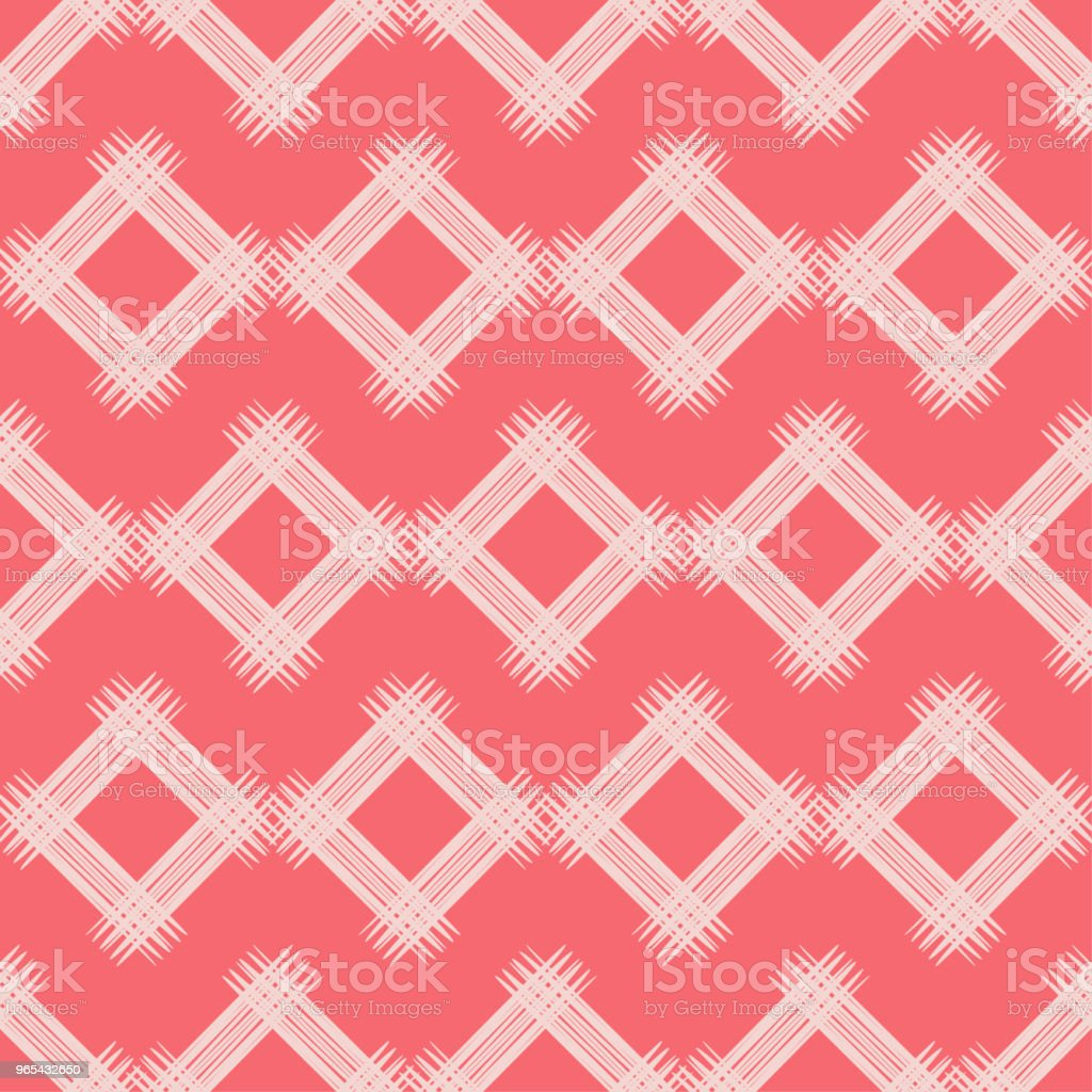 Seamless abstract geometric pattern. The texture of rhombus. Brushwork. Hand hatching. Scribble texture. Textile rapport. royalty-free seamless abstract geometric pattern the texture of rhombus brushwork hand hatching scribble texture textile rapport stock vector art & more images of abstract