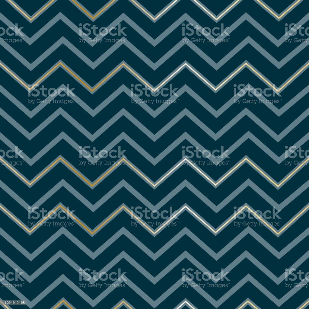 メンズ暗い青色の背景にシームレスな抽象的な幾何学的なジグザグ