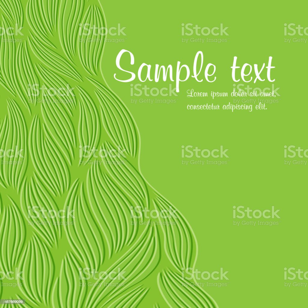 Seamless Abstract Hand-Drawn Ppattern vector art illustration