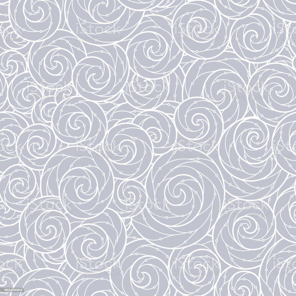 Sorunsuz soyut çizilmiş dalgalar desen, dalgalı arka plan. - Royalty-free Arka planlar Vector Art