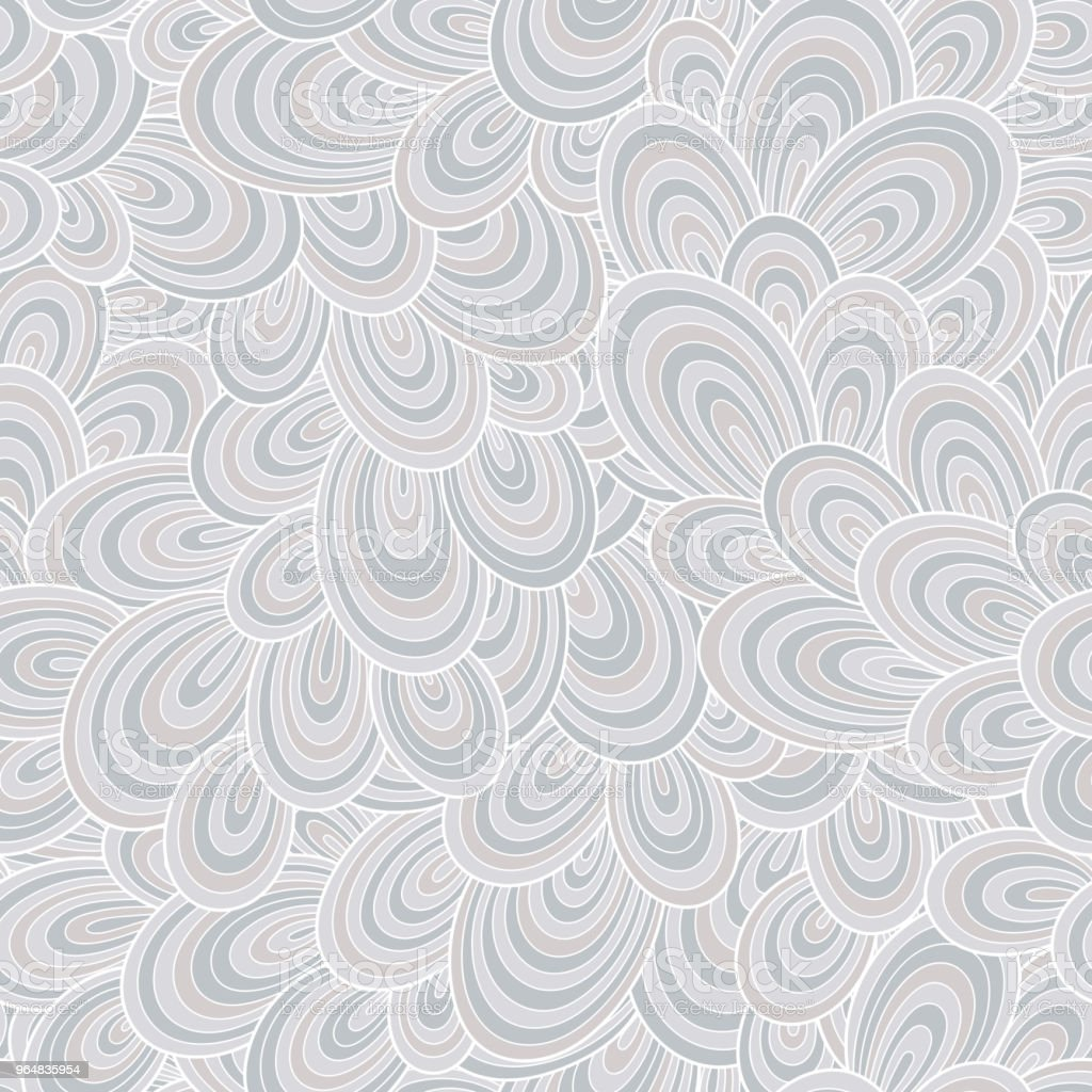 Seamless abstract hand-drawn waves pattern, wavy background. royalty-free seamless abstract handdrawn waves pattern wavy background stock vector art & more images of abstract