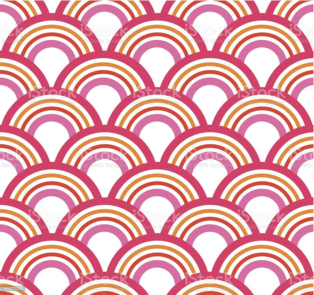 Seamless abstract rainbows pattern royalty-free seamless abstract rainbows pattern stock vector art & more images of abstract