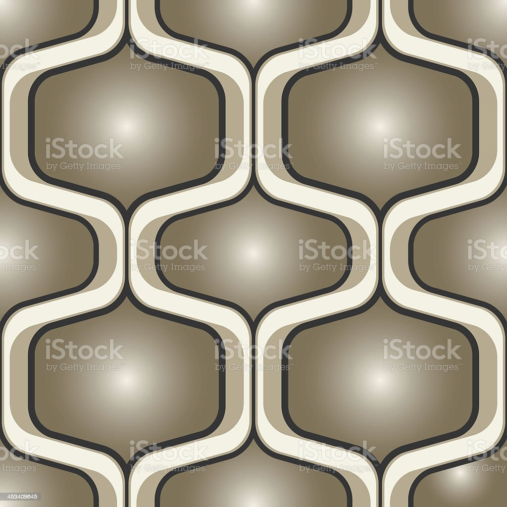 Seamless abstract retro background pattern royalty-free seamless abstract retro background pattern stock vector art & more images of 1950-1959