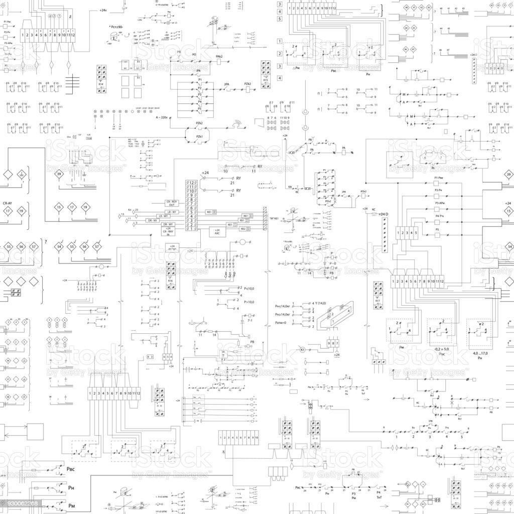 sorunsuz soyut düzeni desen - Royalty-free Arka planlar Vector Art