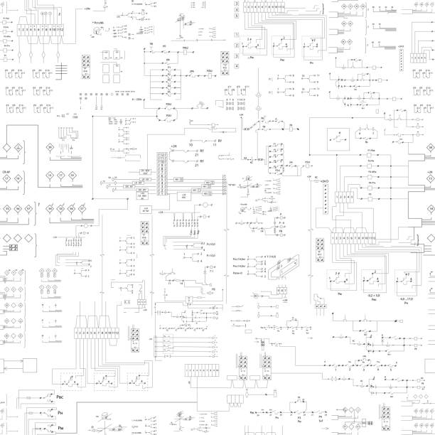 ilustraciones, imágenes clip art, dibujos animados e iconos de stock de patrón transparente esquema resumen - electricity