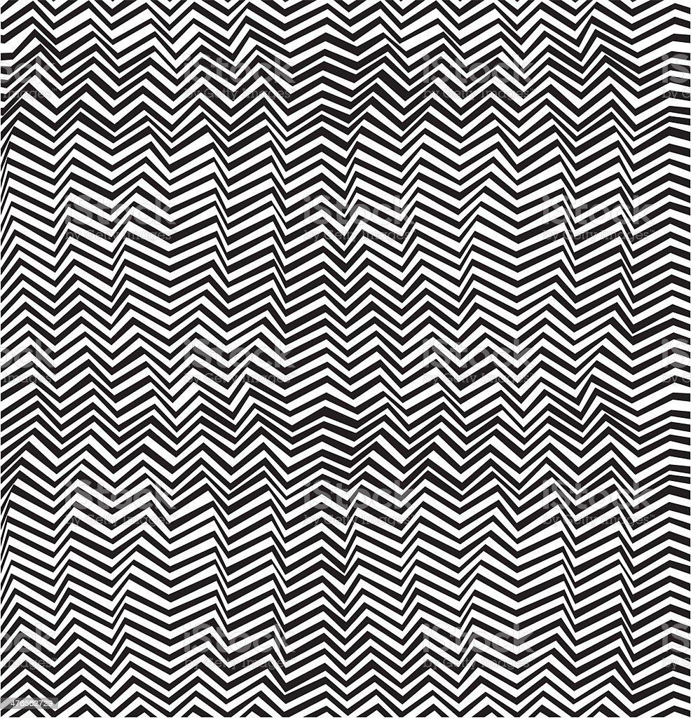 Seamless abstract stripe pattern vector art illustration