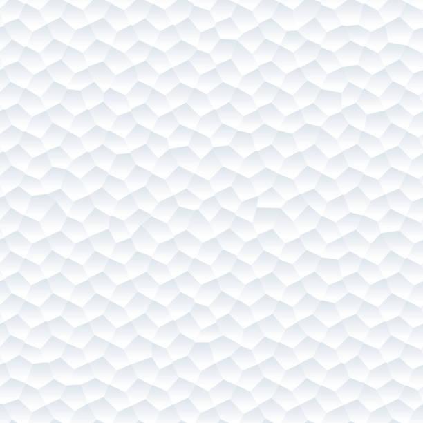 ilustraciones, imágenes clip art, dibujos animados e iconos de stock de seamless abstract fondo blanco. - fondos arrugados
