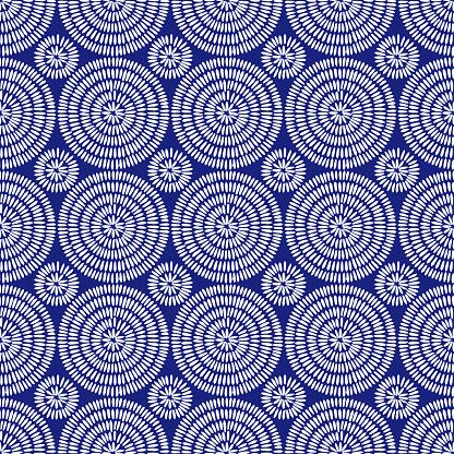 Seamless african shweshwe pattern.