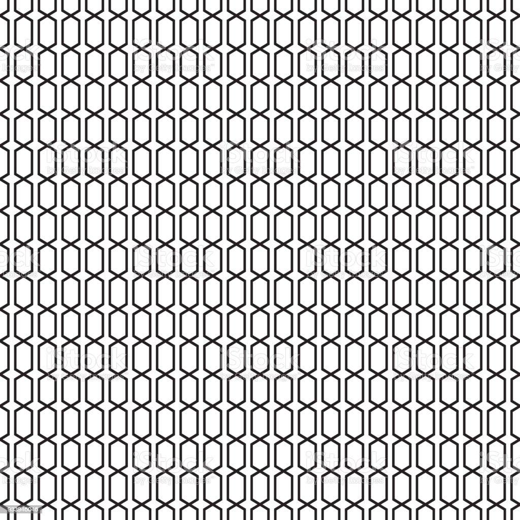 Seamless Angular Lattice Trellis Pattern Royalty Free Stock Vector Art