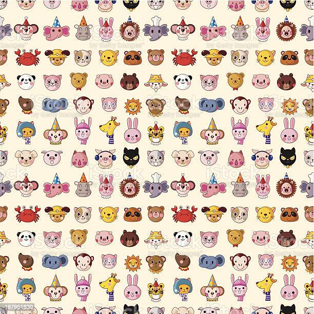 Seamless animal face pattern vector id187951830?b=1&k=6&m=187951830&s=612x612&h=thnzuse06q2hmljrwwjqexdwr4uwkgedy09pfnyy k4=
