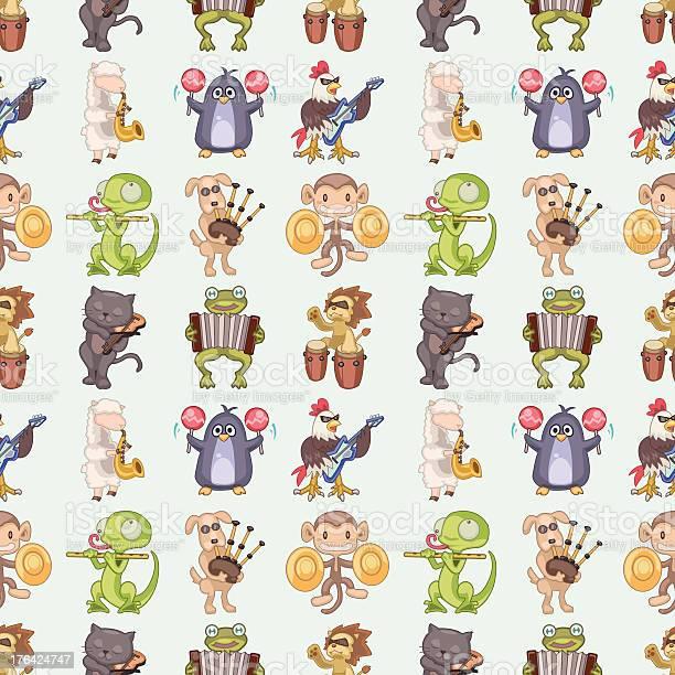 Seamless animal play music pattern vector id176424747?b=1&k=6&m=176424747&s=612x612&h=myfnl45q6dlnf6pubrojiav7makfv1ff4risp felpm=