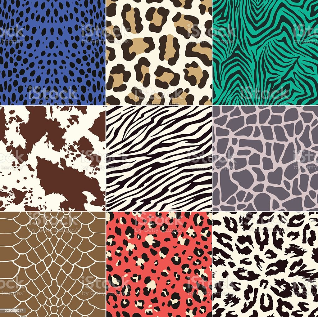 seamless animal skin pattern