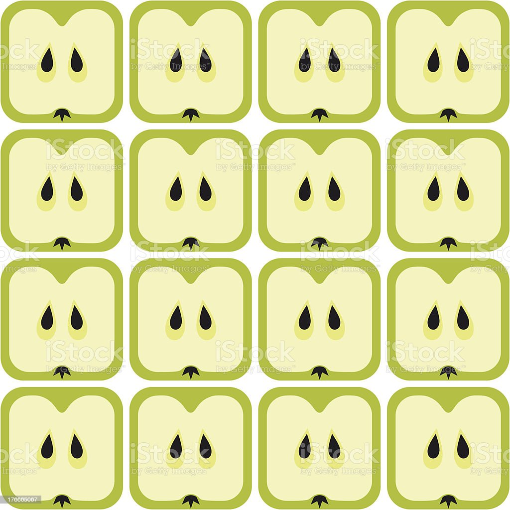 seamless apple pattern royalty-free seamless apple pattern stock vector art & more images of apple - fruit