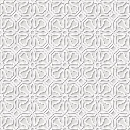 Seamless arabic geometric  pattern