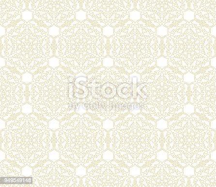 Seamless arabic pattern - ottoman traditional ornament