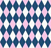 Allover checkered print
