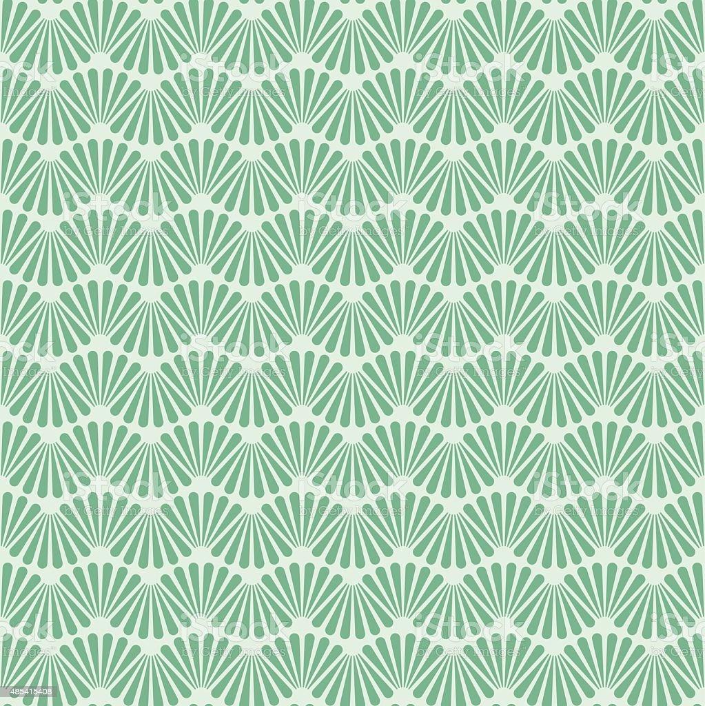 Seamless Art Deco Pattern Texture Wallpaper Background vector art illustration