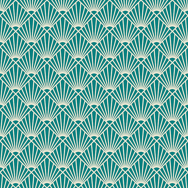 Royalty Free Art Deco Pattern Clip Art, Vector Images ...