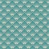 seamless art deco sunburst pattern.