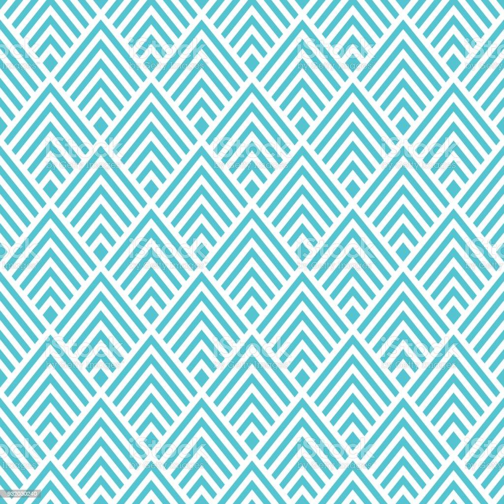 Sans Soudure Fond Papier Peint Art Deco Cliparts Vectoriels Et