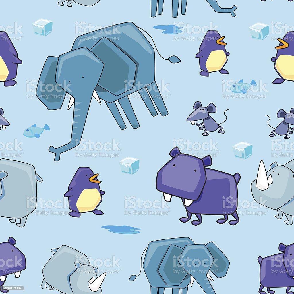 シームレスな背景動物 のイラスト素材 456078987 | istock