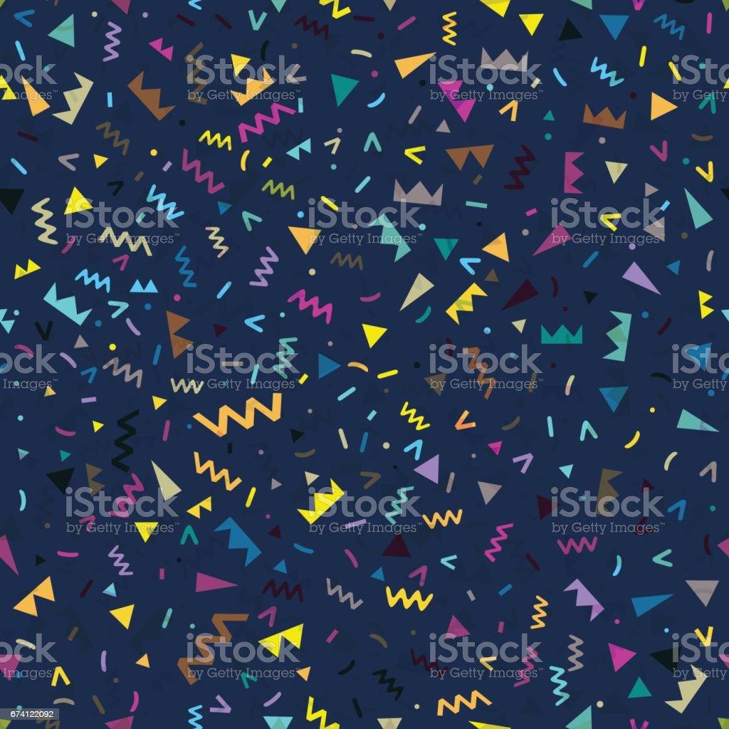 無縫背景幾何形狀 免版稅 無縫背景幾何形狀 向量插圖及更多 1990-1999 圖片