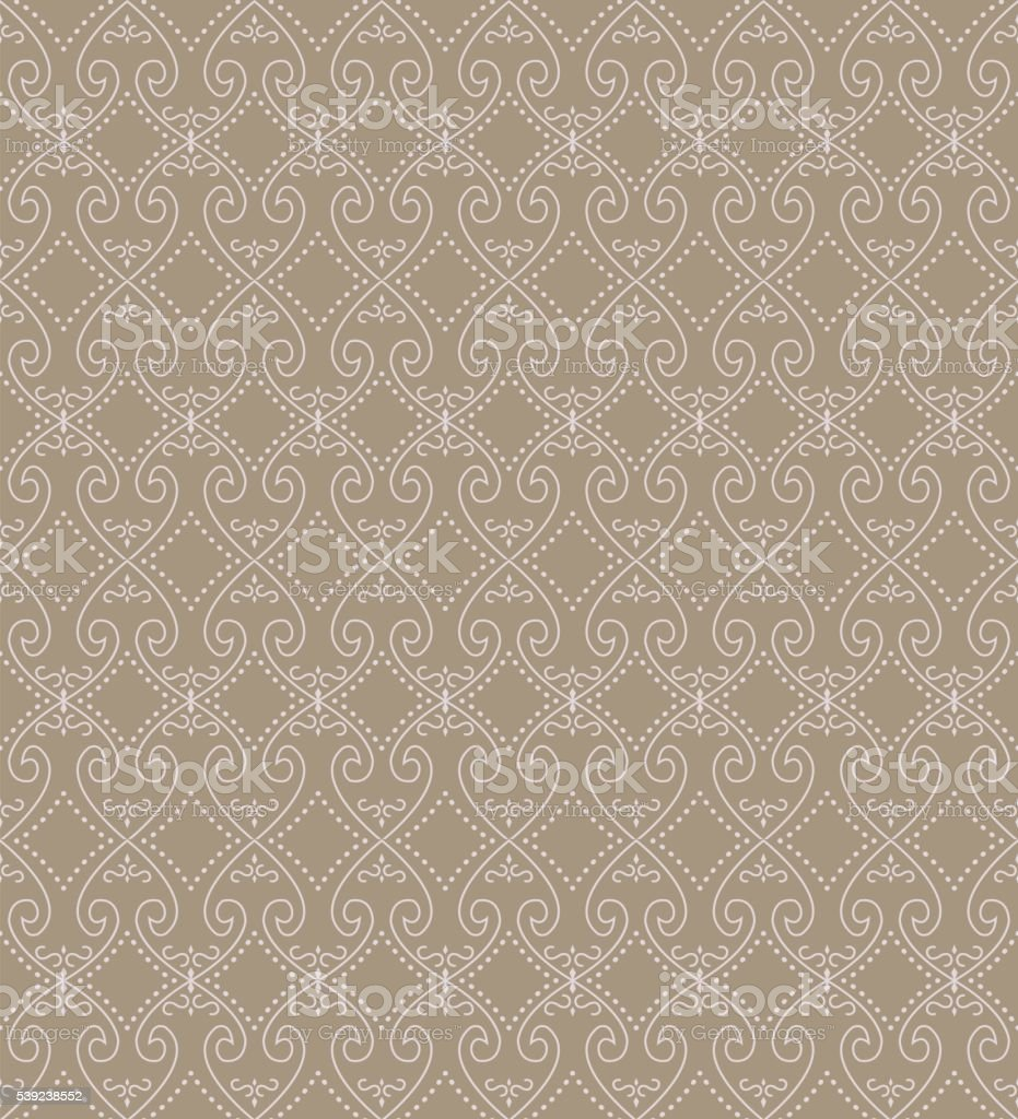 Seamless background image of spiral heart cross dot line. royalty-free seamless background image of spiral heart cross dot line stock vector art & more images of backgrounds