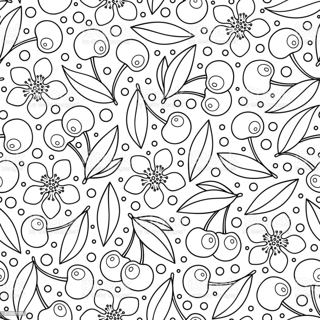 Seamless background in doodle style. Floral, ornate, decorative,...