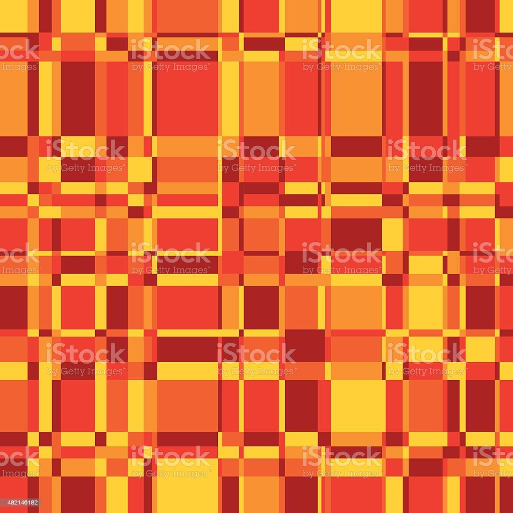 Seamless background in warm colors vector art illustration
