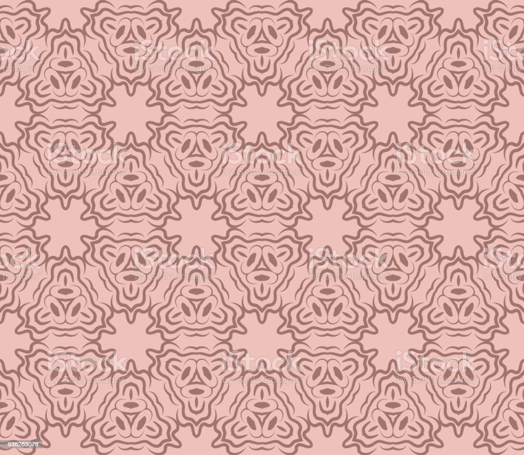 Seamless Background Modern Geometric Ornament . Vector Illustration. For  Fashion, Bed Sheets Or Pillow
