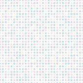 Seamless background of pastel-tones polka dots