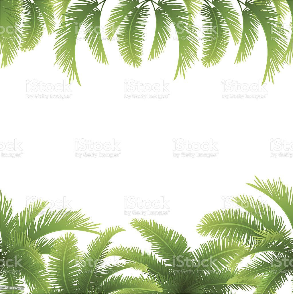 Seamless background, palm leaves royalty-free seamless background palm leaves stock vector art & more images of abstract