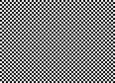 Seamless background pattern - Chess board - black and white wallpaper - vector Illustration
