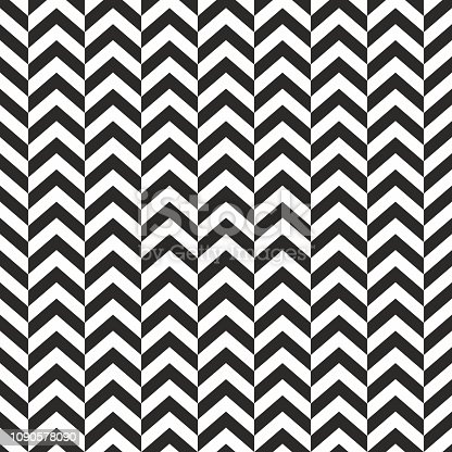 Seamless background pattern - Herringbone Zigzag - wallpaper - vector Illustration