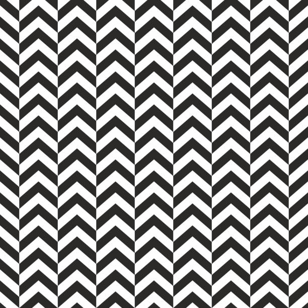 Seamless background pattern - Herringbone Zigzag - wallpaper - vector Illustration Seamless background pattern - Herringbone Zigzag - wallpaper - vector Illustration zigzag stock illustrations