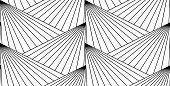 Seamless background pattern - hills - wallpaper - vector Illustration