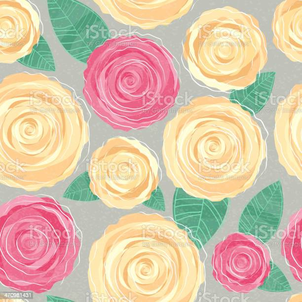 Seamless background pink and yellow roses vector id470981431?b=1&k=6&m=470981431&s=612x612&h=ihkcfaqjmzee3vip2u ois4hb0r6igng8obk6f8gikw=