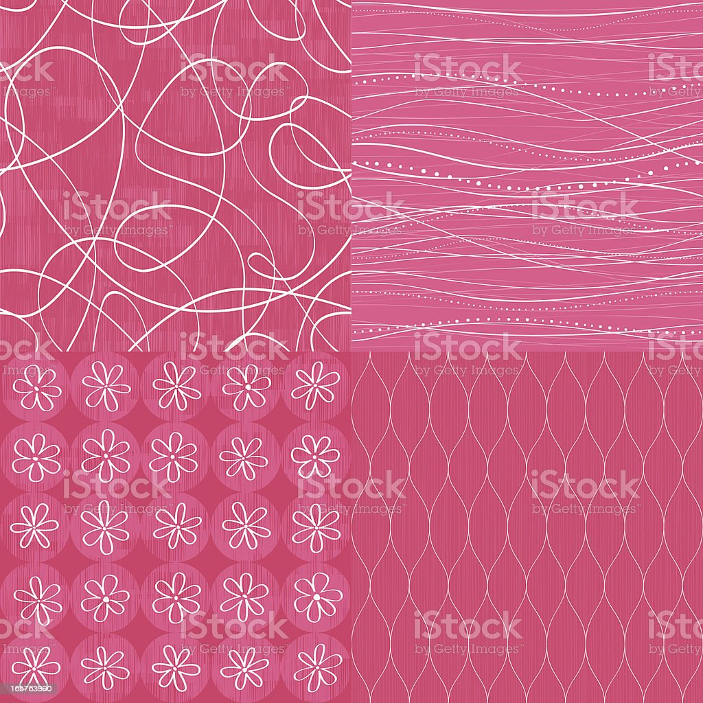 Seamless background set royalty-free seamless background set stock illustration - download image now