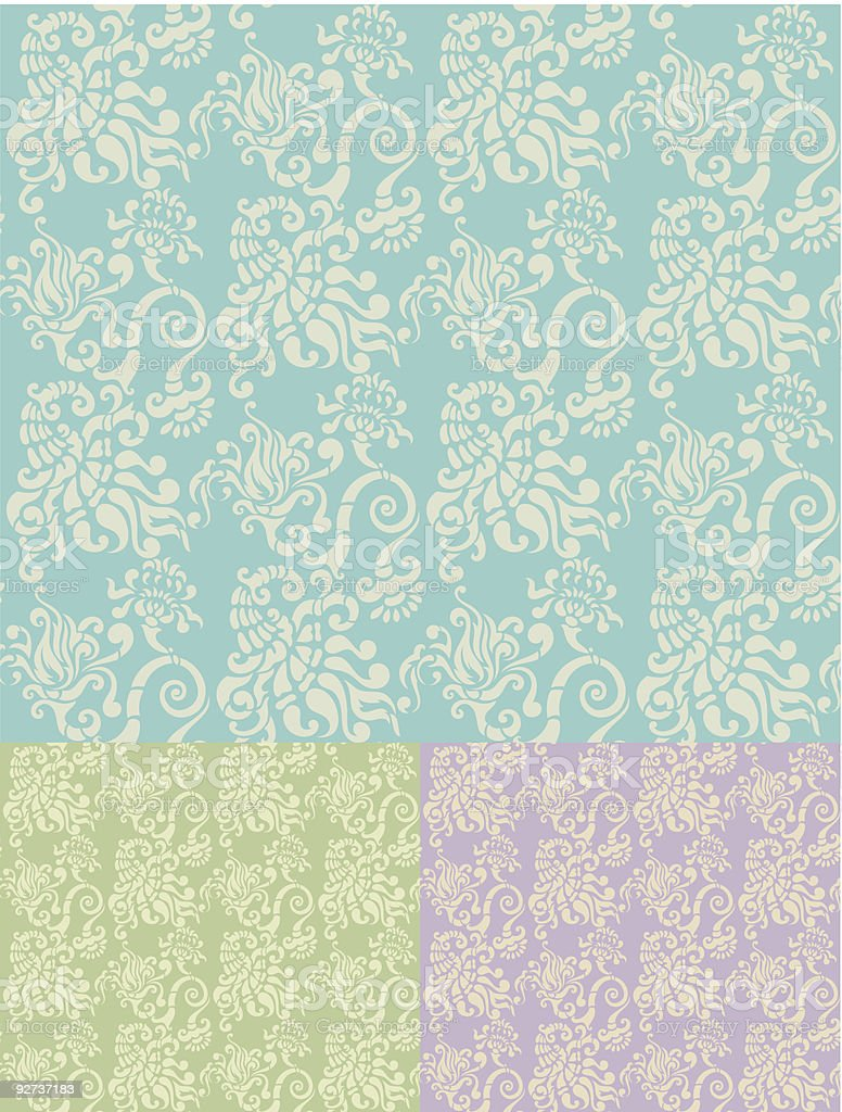 Seamless background - Royalty-free Antique stock vector