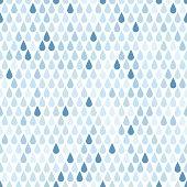 Endless  rain pattern. Vector illustration
