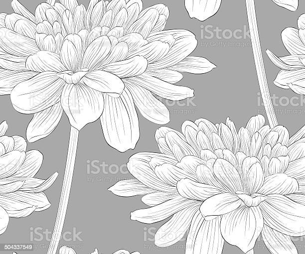 Seamless background with flowers dahlia vector id504337549?b=1&k=6&m=504337549&s=612x612&h=bwxf0j1 plk qwhs4oy5c0 ymn4d8m7jsvbkuqfseyu=