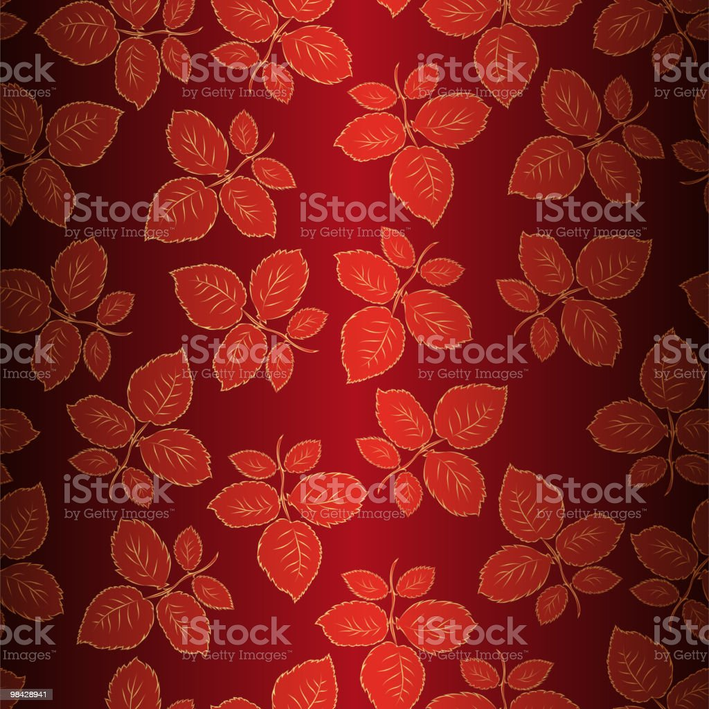 Seamless background with leaves of roses royalty-free seamless background with leaves of roses stock vector art & more images of anniversary