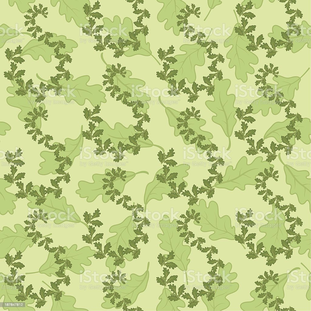 Seamless background with leaves royalty-free seamless background with leaves stock vector art & more images of abstract