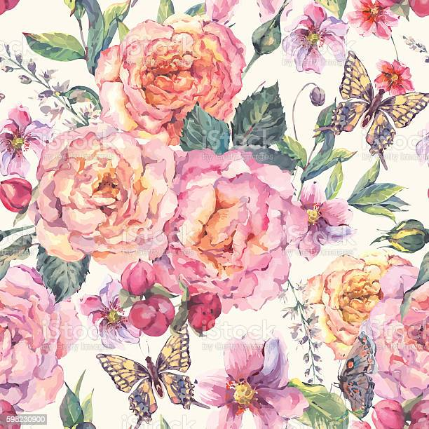 Seamless background with roses and butterfly vector id598230900?b=1&k=6&m=598230900&s=612x612&h=pvaqst1plzsi3yvuhtcwsairximwhoigggmrrl8sax4=