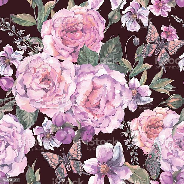Seamless background with roses and butterfly vector id598231022?b=1&k=6&m=598231022&s=612x612&h=yrb uiut0cd0m6rmrtobuj0tkvf1adr5iihfxydmfh8=