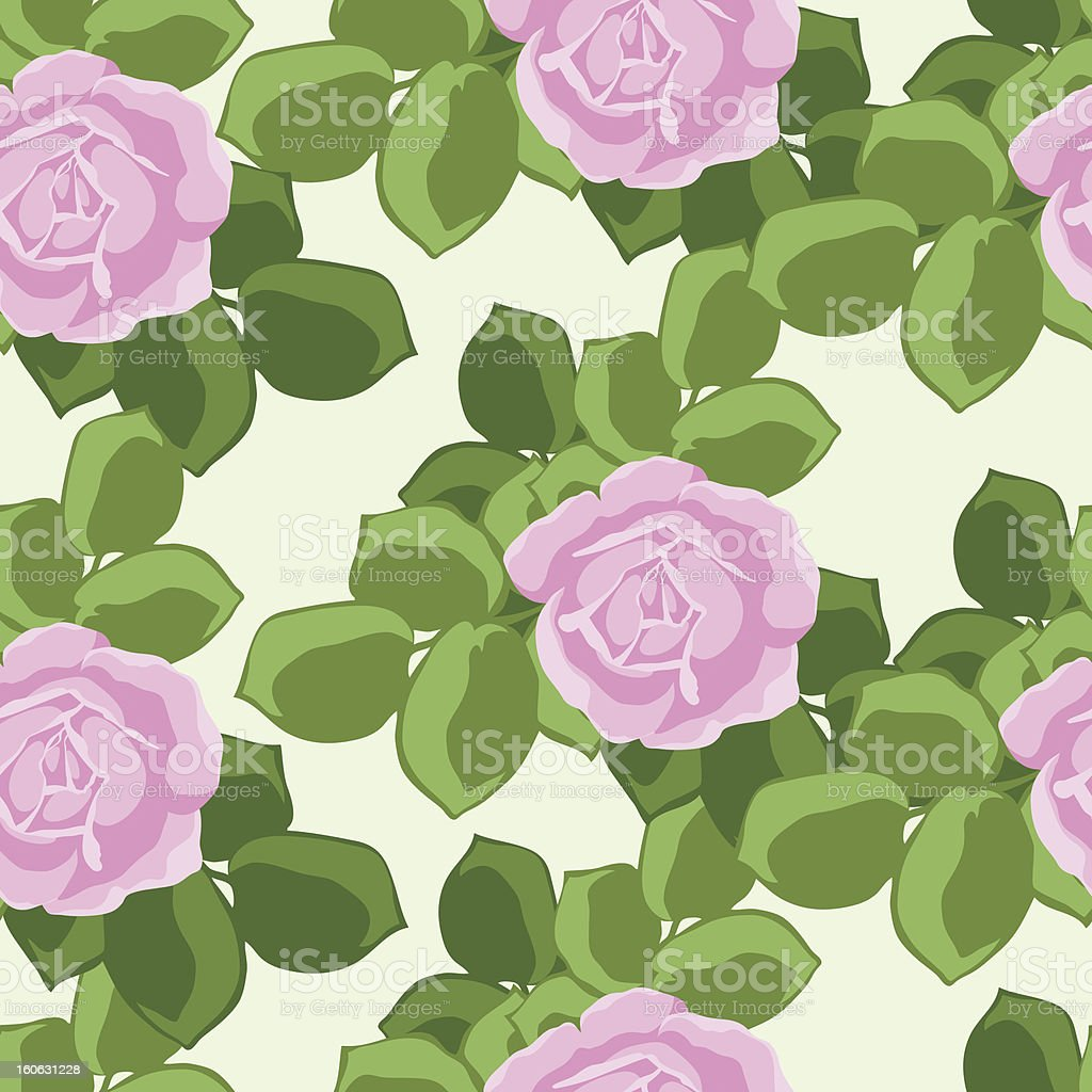 Seamless background with roses royalty-free seamless background with roses stock vector art & more images of abstract